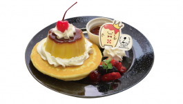 Happy 2nd Anniversary! 王様プリンパンケーキ