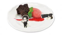 執行官のHOUNDケーキ