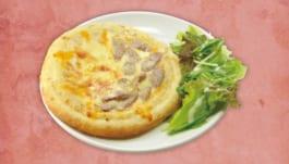 白鎧亭(ホワイト・メイル)のピザパイ