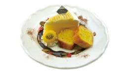 ジョージのケーキショップ 栗とスイートポテトのケーキセット
