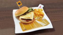 宮城県1年生選抜強化合宿ハンバーガー