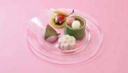 桜ミクのお花見甘味セット
