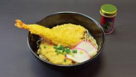 海、山の幸の天ぷら稲庭蕎麦