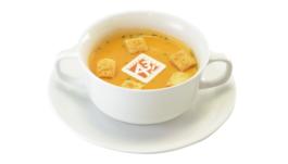 秋組のホットビスクスープ