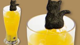 四楓院夜一のタピオカオレンジジュース
